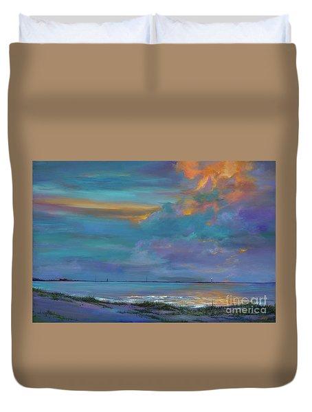 Mariners Beacon Duvet Cover