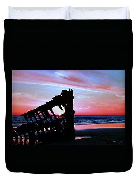 Mariners Sky 20 Duvet Cover by Steve Warnstaff