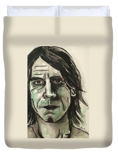 Mark Arm Mudhoney Duvet Cover