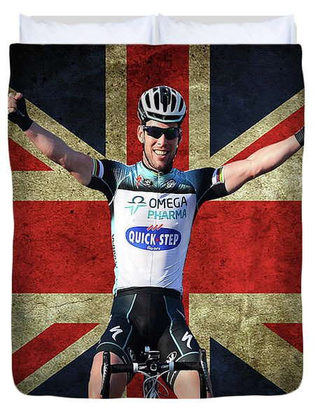 Mark Cavendish 1 Duvet Cover