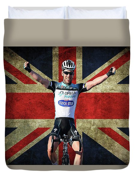 Mark Cavendish 1 Duvet Cover