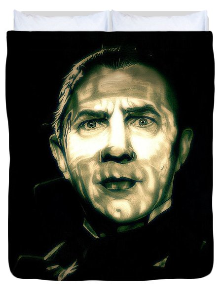 Mark Of The Vampire Duvet Cover by Fred Larucci
