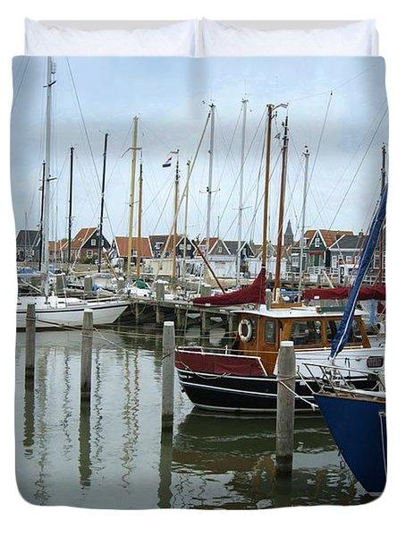 Marken Harbour Duvet Cover
