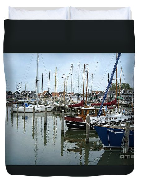 Marken Harbour Duvet Cover