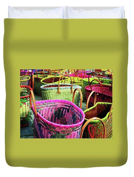 Market Baskets - Libourne Duvet Cover