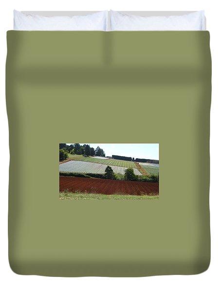 Market Gardening Duvet Cover