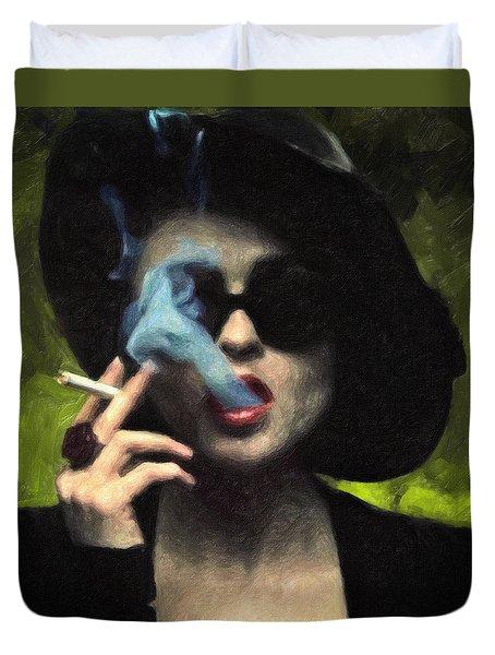 Marla Singer Duvet Cover