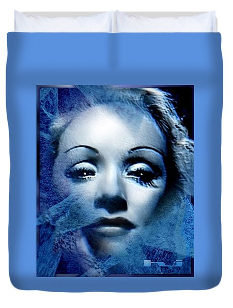 Marlene - Der Blaue Engel Duvet Cover