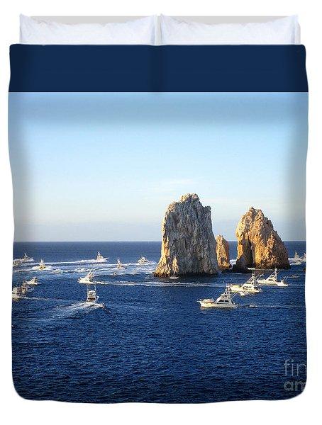 Marlin Fishing Tournament 1 Duvet Cover