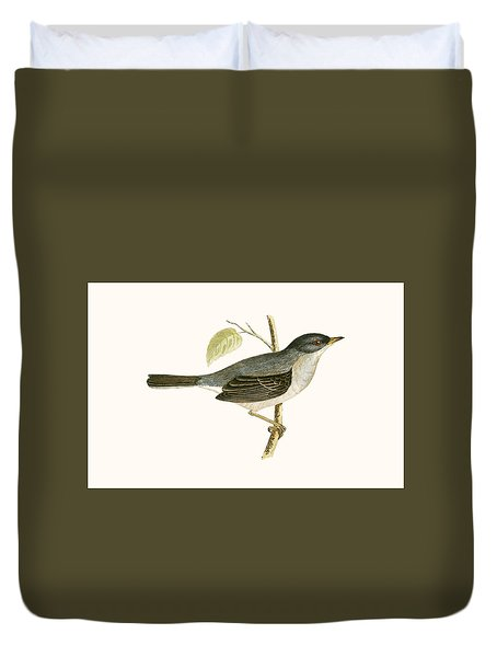 Marmora's Warbler Duvet Cover by English School