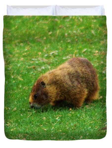Marmot On The Go Duvet Cover