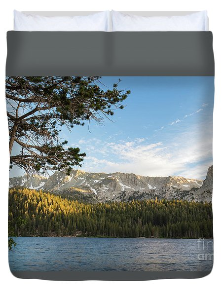 Marry Lake  Duvet Cover