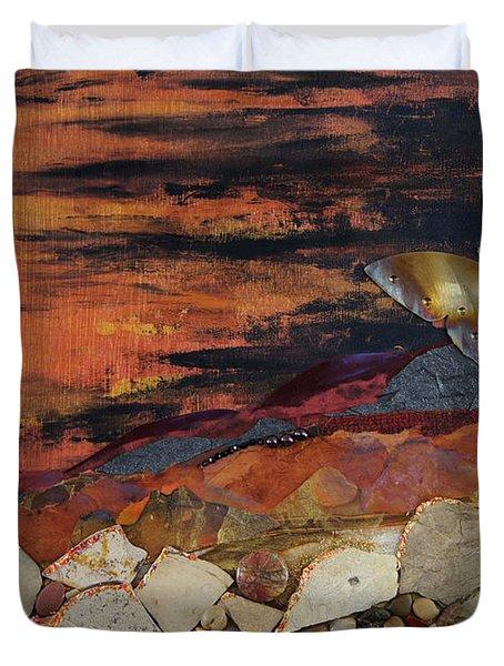 Mars Butterfly Effect Duvet Cover