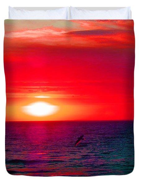 Mars Sunset Duvet Cover