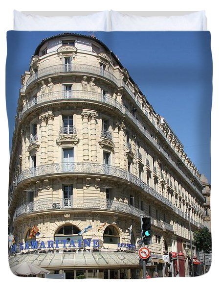 Marseille, France Duvet Cover