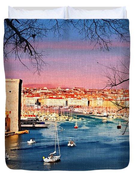Marseille Duvet Cover