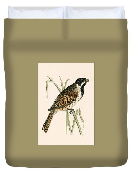 Marsh Bunting Duvet Cover
