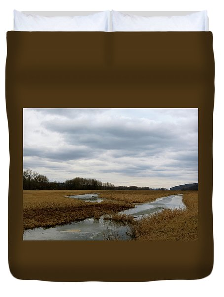 Marsh Day Duvet Cover