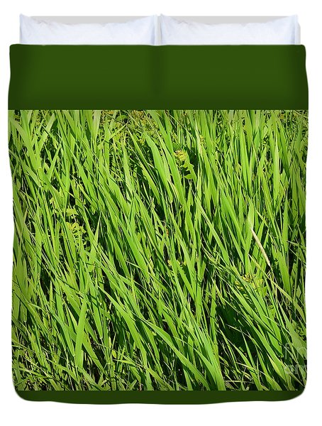 Marsh Grasses Duvet Cover