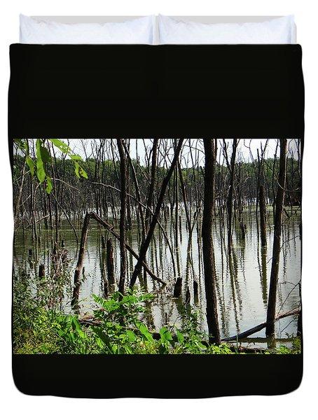 Marsh Duvet Cover