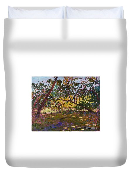 Marsh Land Duvet Cover