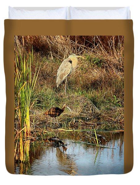 Marsh Land Duvet Cover