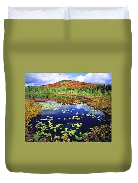 Marsh Pond Duvet Cover
