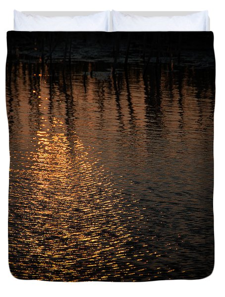 Marsh Sunrise Duvet Cover