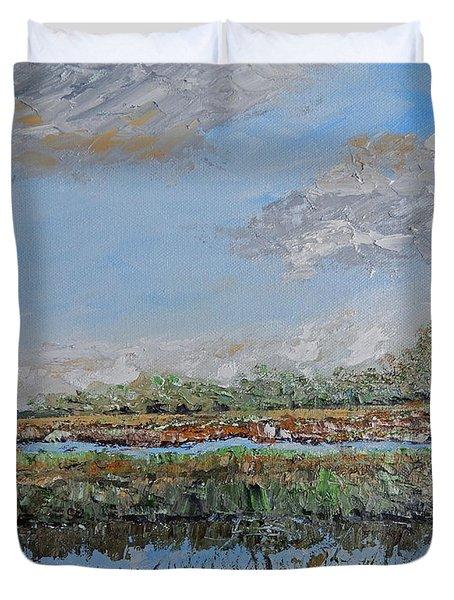 Marsh View Duvet Cover