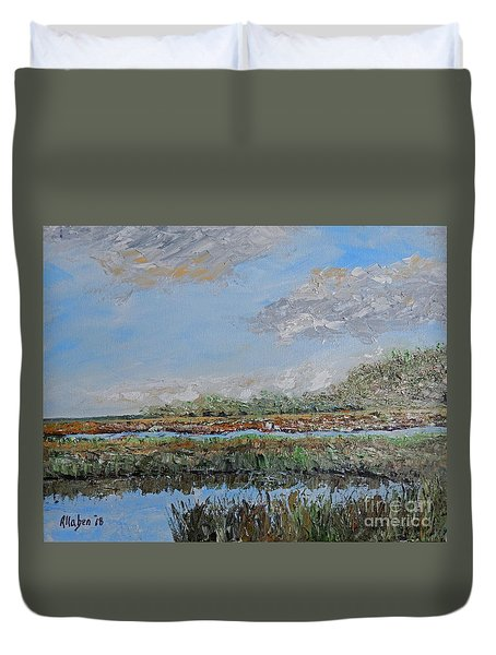 Marsh View Duvet Cover