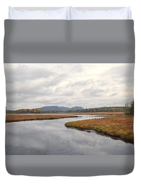 Marshall Brook No. 2 - Acadia - Maine Duvet Cover