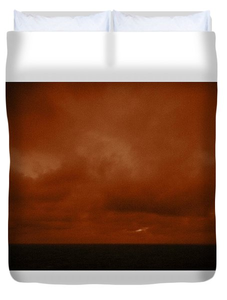 Marshall Islands Area Duvet Cover