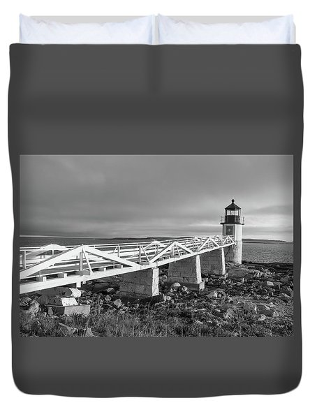 Marshall Point Lighthouse Duvet Cover