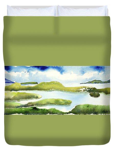 Marshes Duvet Cover