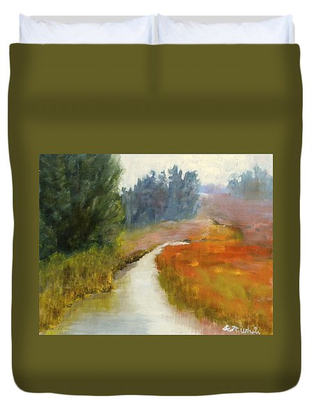 Marshes Of New England Duvet Cover