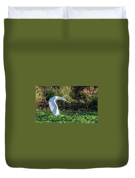 Marshy Flight  Duvet Cover