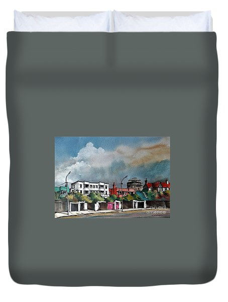 F  732 Martello Tower Bray Seafront Wicklow.. Duvet Cover