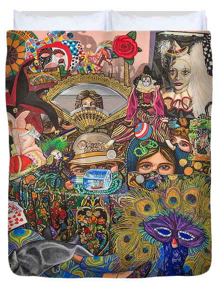 Martigras Masquerade Duvet Cover