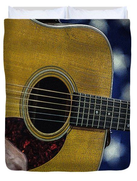 Martin Guitar 1 Duvet Cover