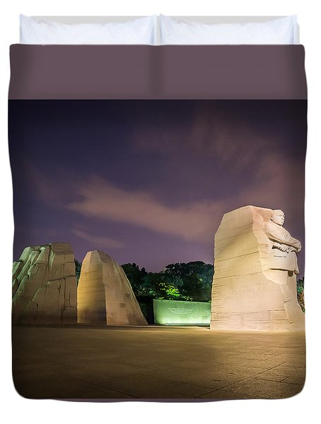 Martin Luther King Jr. Memorial Duvet Cover