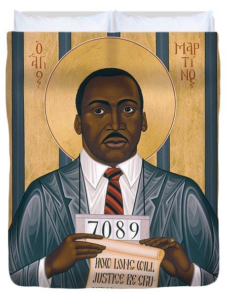Martin Luther King Of Georgia  - Rlmlk Duvet Cover