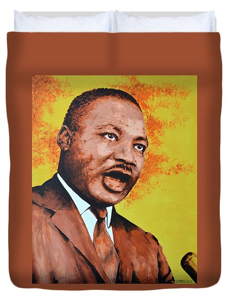 Martin Luther King Duvet Cover