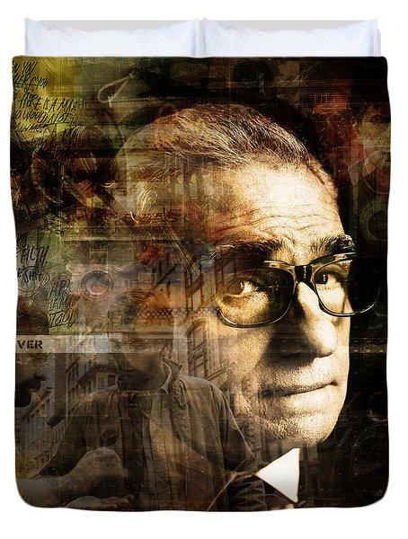 Martin Scorsese Duvet Cover