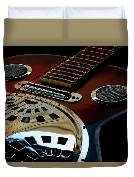 Martinez Guitar 002 Duvet Cover