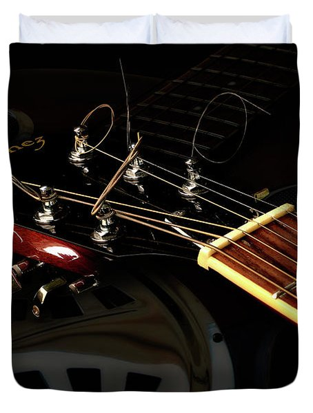 Martinez Guitar 003 Duvet Cover