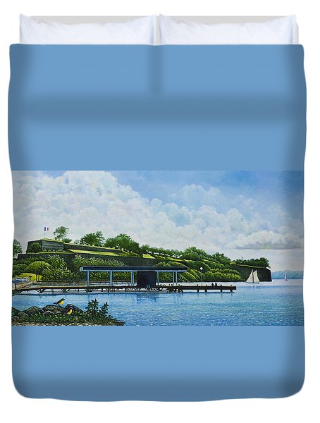 Martinique Duvet Cover
