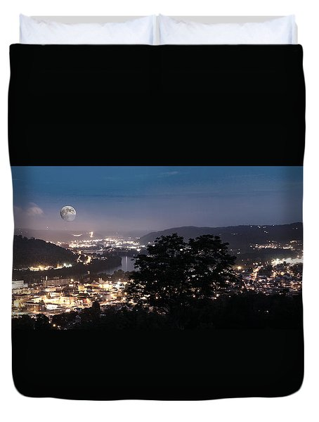 Martins Ferry Night Duvet Cover