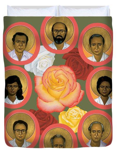 Martyrs Of The Jesuit University - Rlmju Duvet Cover