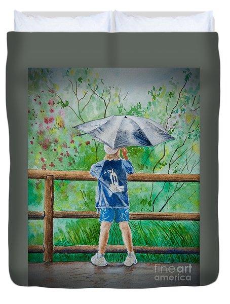 Marcus' Umbrella Duvet Cover
