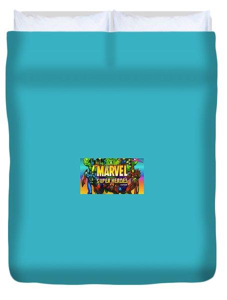 Marvel Super Heroes Duvet Cover